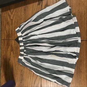 American Apparel School Girl stripped skirt